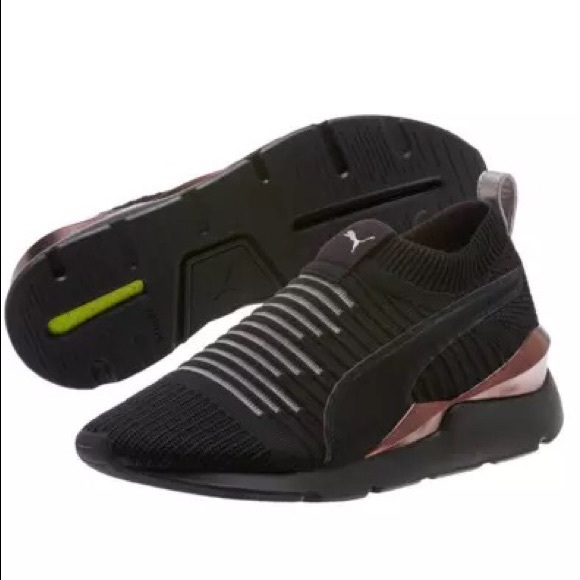 Puma Shoes   Womens Puma Muse Slip On